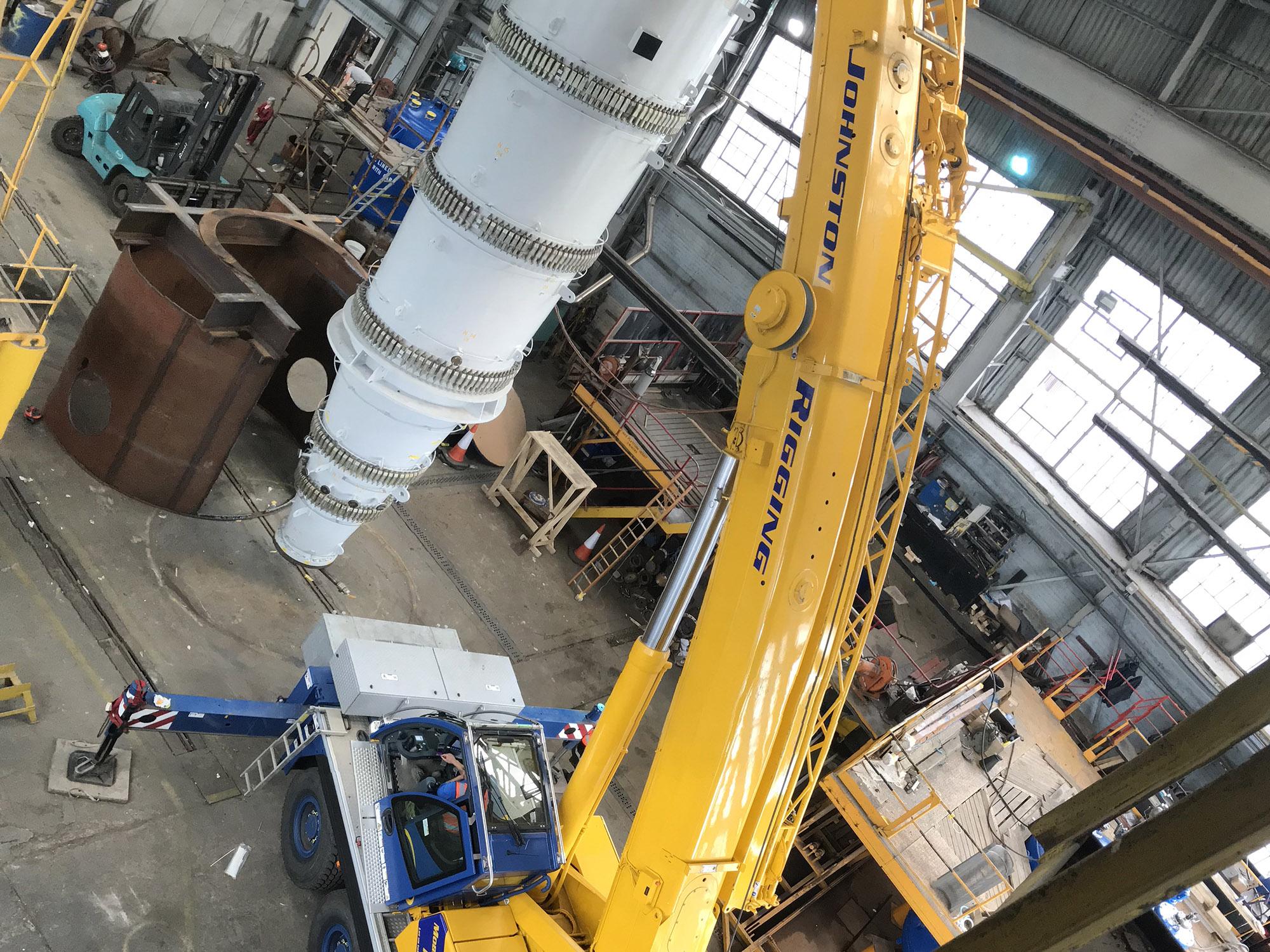 Crane hire Rosyth